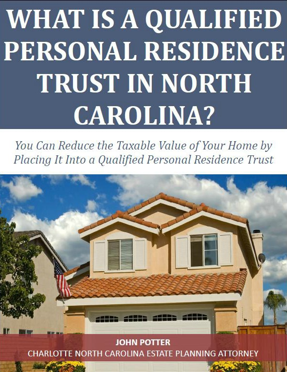 What is a Qualified Personal Residence Trust in North Carolina
