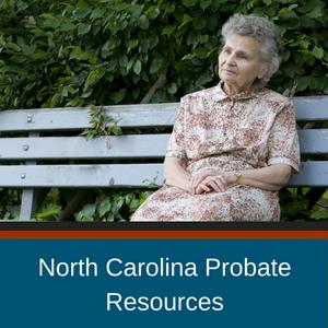North Carolina Probate Resources