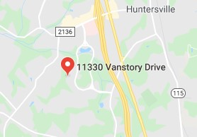 HUNTERSVILLE Map Image